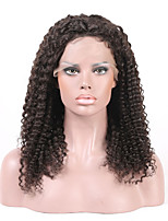 Beata Hair Glueless Lace Front Wig Kinky Curly - 130% Density 10-26Inches Brazilian Human Hair Wigs for Black Women