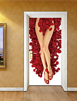 Personas Pegatinas de pared Calcomanías 3D para Pared Calcomanías Decorativas de Pared,Vinilo Material Decoración hogareñaVinilos