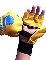 Boxing Gloves for Boxing Fingerless Gloves Protective Nylon LeatherGloves