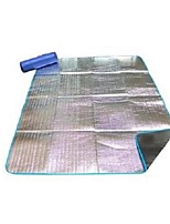 Moistureproof/Moisture Permeability Camping Pad Picnic Pad Silver Hiking Camping Traveling
