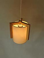Lámparas Colgantes ,  Moderno / Contemporáneo Madera Característica for LED Madera/BambúSala de estar Dormitorio Comedor Cocina