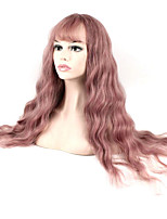Hot Selling Light Purple Color Synthetic Cosplay Wigs For Women Party Wigs