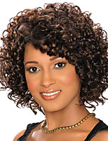 Cut Styles Natural Black Kinky Curly Wig 11inch 210g Heat Resistant  Synthetic Wig WS561
