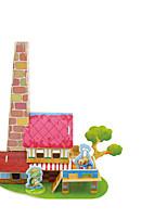 Пазлы 3D пазлы Строительные блоки Игрушки своими руками Лошадь 1 Дерево Модели и конструкторы