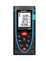 Sndway SW-120 Digital 120m 635nm in Door Laser Distance Measurer with Distance & Angle Measurement (1.5V AAA Batteries)