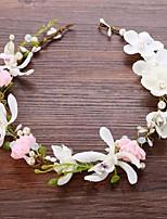 Alliage Imitation de perle Casque-Mariage Occasion spéciale Fleurs
