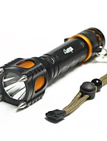 LED Flashlights/Torch LED Lumens Mode 18650 Compact Size Camping/Hiking/Caving Everyday Use Outdoor