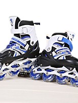 Kid's Inline Skates Breathable Wearproof Comfortable Blue/Red/Blushing Pink