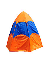 5-8 persons Tent Double Automatic Tent One Room Camping Tent 2000-3000 mm Fiberglass OxfordMoistureproof/Moisture Permeability Waterproof
