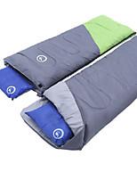 Спальный мешок Прямоугольный Односпальный комплект (Ш 150 x Д 200 см) -3 15 20 T/C хлопок 218X150 ПоходыВлагонепроницаемый Сохраняет