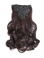 Com Presilha Sintético Extensões de cabelo 160 Alongamento