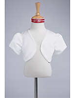 Kids' Wraps Shrugs Satin Wedding Party/Evening