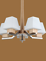 Chandelier ,  Modern/Contemporary Electroplated Feature for LED Wood/Bamboo Living Room Bedroom Dining Room Kitchen Study Room/Office