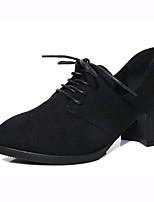 Femme-Extérieure Bureau & Travail Décontracté--Gros Talon-Semelles Légères club de Chaussures-Chaussures à Talons-Laine synthétique