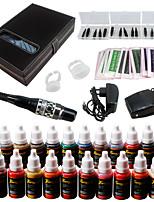Solong Tattoo Augenbraue Kit dauerhafte Make-up Maschine Tattoo 23 Zoll Nadel ek709-3