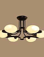 Flush Mount ,  Traditional/Classic Others Feature for LED Metal Living Room Bedroom Study Room/Office