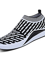 Men's Athletic Shoes Spring Fall Comfort PU Outdoor Flat Heel