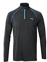 Laufen Frühling Sportbekleidung Freizeit Sport Polyester Schlank Grau
