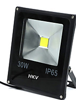 1 pcs hkv® 30w 2850-2950lm 2800-3200k 6000-6500k branco quente frio branco levou projector (ac 85-265v)