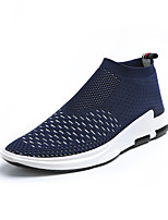Man's Flyknit Shoes Sneakers Spring / Fall / Winter Comfort  Outdoor / Office/ Funny Casual Shoes Grey/Blue/Black Breathable Running Shoes