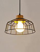 Lampe suspendue ,  Contemporain Plaqué Fonctionnalité for LED MétalSalle de séjour Chambre à coucher Salle à manger Cuisine Bureau/Bureau