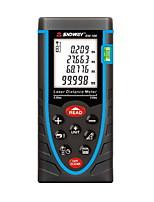 Sndway SW-100 Handheld Digital 100m 635nm Laser Distance Measurer (1.5V AAA Batteries)