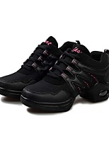 Non Customizable Women's Dance Shoes Leatherette Leatherette Dance Sneakers / Sneakers Flat Heel Practice /