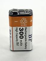 bateria recarregável 9v 300mAh