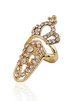 Ring Euramerican Fashion Cross Rhinestone Zinc Alloy Jewelry For Wedding Party Special Occasion 1pc