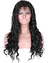 perruques de cheveux humains vague naturelle de dentelle brazilian pleine pour les femmes noires avec des cheveux de bébé 130 perruques