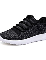 Men's Sneakers Spring Summer Light Soles Tulle Outdoor Athletic Casual Flat Heel Khaki Black White Running Shoes
