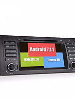 Bonroad android 7.1.1 quad core 1024 600 bil video dvd afspiller til e39 e53 radio rds gps navigation bluetooth skærm wifi
