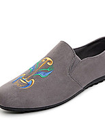 Women's Loafers & Slip-Ons Spring Summer Fall Comfort Fabric Casual Flat Heel