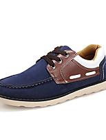 -Для мужчин-Повседневный-Ткань-На плоской подошве-Удобная обувь-Кеды