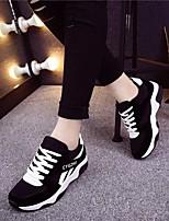 Women's Sneakers Spring Comfort PU Casual Red Purple Black