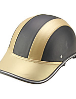 Motor Helmet Baseball Cap Style Safety Hard Hat Anti-UV  Gold Black