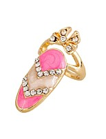 Ring Fashion Rhinestone Zinc Alloy Jewelry For Wedding Party Special Occasion 1pc