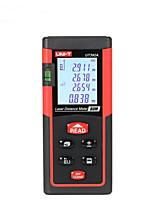 Unit ut392a портативный цифровой 80m 635nm лазерный дальномер с расстоянием&Измерение угла (батареи 1.5v aaa)