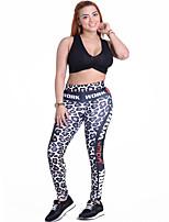 Femme Course / Running Collants Respirable Doux Confortable Printemps Eté Automne HiverYoga Exercice & Fitness Sport de détente
