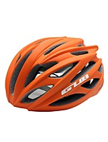 Sports Unisex Bike Helmet 26 Vents Cycling Cycling PC EPS Orange and Built-in 3D Keel