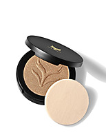 1Pcs Brand Highlighter Powder Professional Cosmetics Brighten Contour Highlighting Bronzers Face Palette Makeup With Mirror