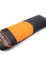 Sleeping Bag Rectangular Bag Single -35-25 Polyester 210X80 Camping Outdoor Keep Warm 自由之舟骆驼