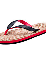 Men's Slippers & Flip-Flops Summer Comfort PU Outdoor Flat Heel Walking