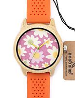 Женские Модные часы Наручные часы Уникальный творческий часы Повседневные часы Часы Дерево Японский Кварцевый Японский кварц деревянный