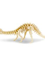Jigsaw Puzzles 3D Puzzles Building Blocks DIY Toys Dinosaur Wood Model & Building Toy