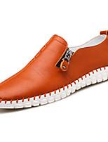 -Для мужчин-Повседневный-Полиуретан-На плоской подошве-Удобная обувь-Мокасины и Свитер