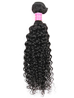 1 bundle Brazilian Remy Hair Kinky Curly Human Hair Weave Extensions