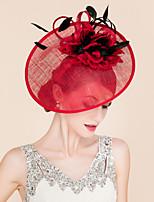 Feather Flax Silk Headpiece-Wedding Special Occasion Headbands 1 Piece