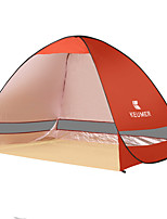 3-4 persons Tent Single Automatic Tent One Room Camping Tent 1000-1500 mm Stainless SteelMoistureproof/Moisture Permeability Waterproof