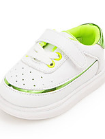Boys' Baby Sneakers First Walkers Synthetic Spring Fall Casual First Walkers Flat Heel Green Blushing Pink Flat